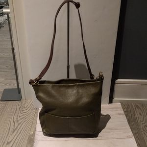 Beautiful genuine leather bag by Valentina 🍀